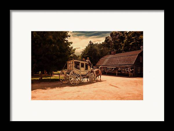 Vintage Framed Print featuring the photograph Nice And Easy by Lourry Legarde