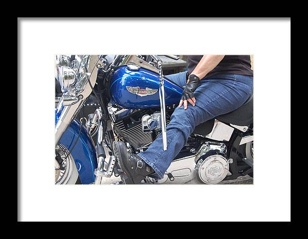 Framed Print featuring the photograph Nice Ride by Katrina Johns