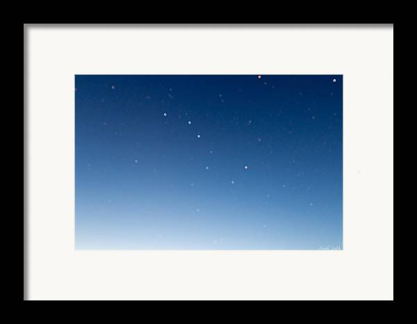 Sky Framed Print featuring the photograph Night Sky by Heidi Smith