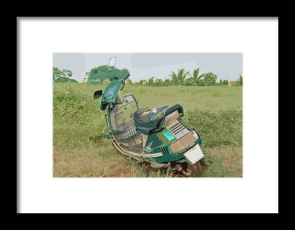 Interesting Framed Print featuring the photograph No Body Loves Me by Kantilal Patel