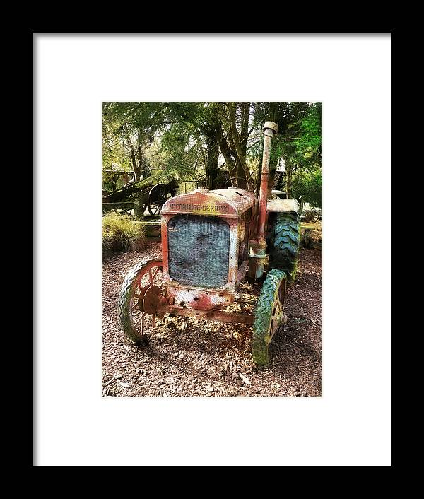 No Need To Rush Framed Print featuring the photograph No Need To Rush by Steve Taylor
