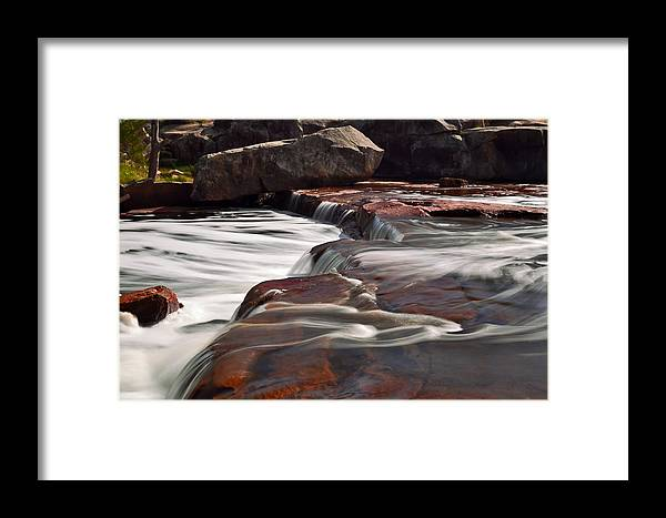 Waterfall Framed Print featuring the photograph Noble Falls by James Fulton