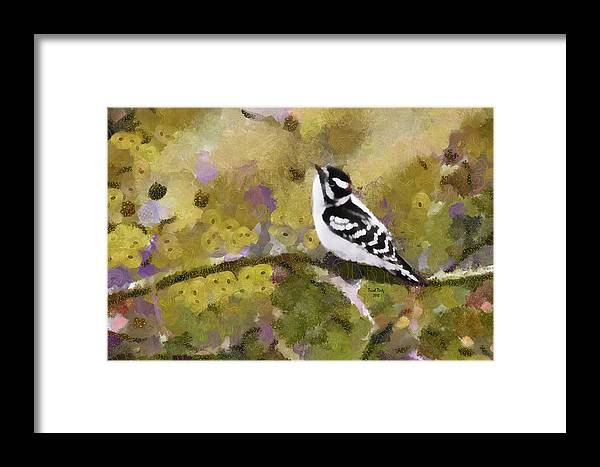Bird Framed Print featuring the photograph Nobody's Perfect by Trish Tritz
