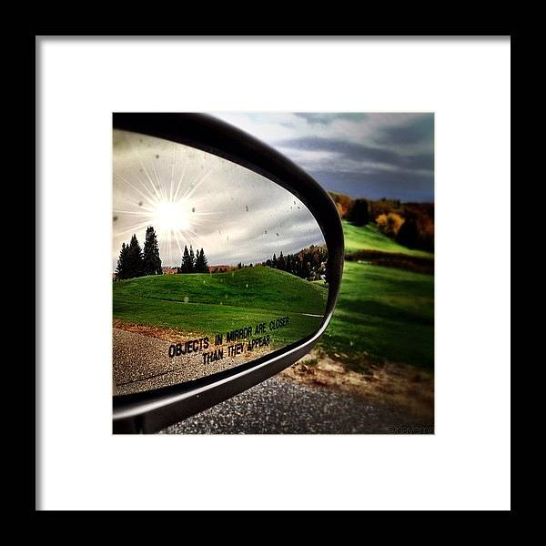 Teamrebel Framed Print featuring the photograph Northern Reflection by Natasha Marco
