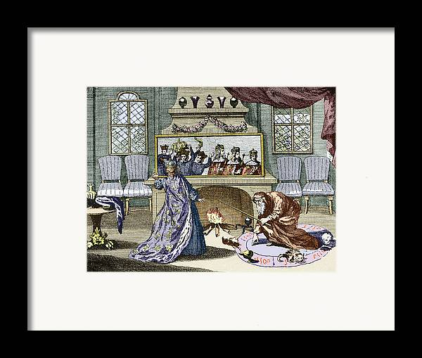 Queen Catherine Framed Print featuring the photograph Nostradamus's Magic Mirror by Sheila Terry