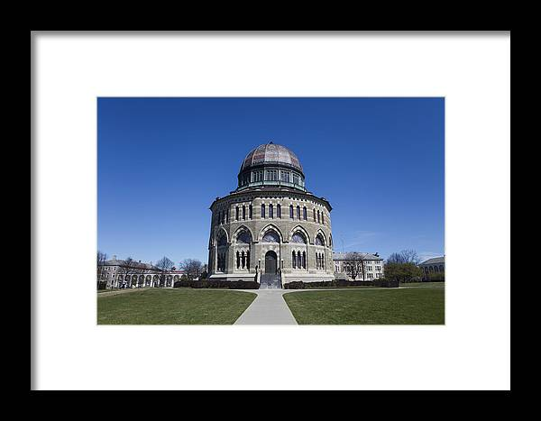 Nott Framed Print featuring the photograph Nott Memorial Building At Union College by Jiayin Ma