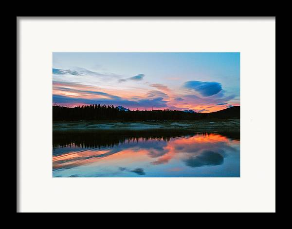 Colorado Framed Print featuring the photograph November Sunrise by Bob Berwyn