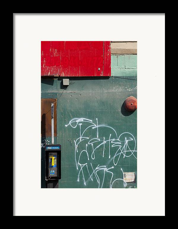 Framed Print featuring the photograph Ny Composition 2 by Art Ferrier