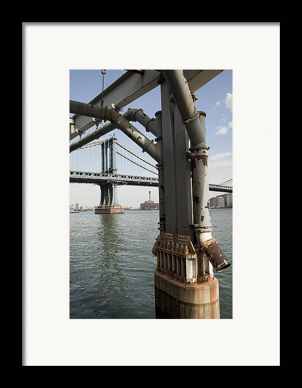 Framed Print featuring the photograph Ny Composition 4 by Art Ferrier