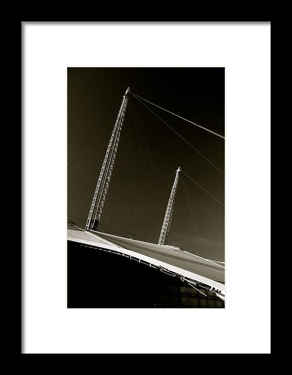 Jezcself Framed Print featuring the photograph O2 by Jez C Self