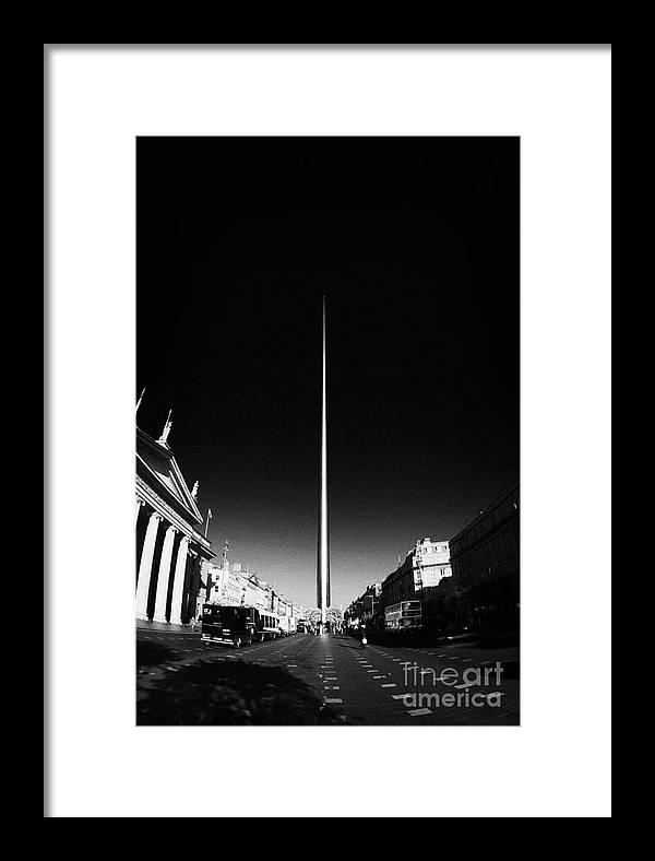 Dublin Framed Print featuring the photograph O'connell Street Dublin by Joe Fox