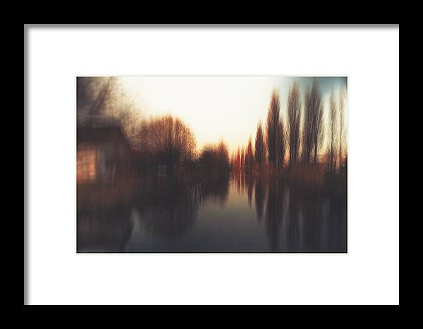Nature Framed Print featuring the photograph Odd World by Peter Van den Berg