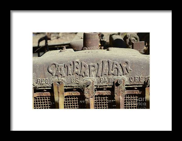 Trucks Framed Print featuring the photograph Old Cat by Phil Poucher