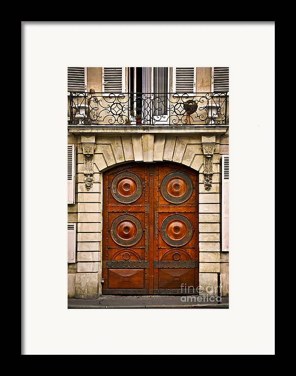 Door Framed Print featuring the photograph Old Doors by Elena Elisseeva