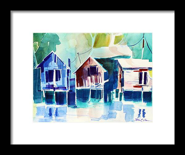 Old Buildings Framed Print featuring the painting Old Friends. by Josh Chilton