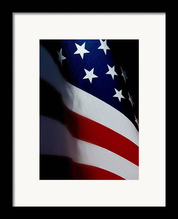 Flags Framed Print featuring the photograph Old Glory - The Flag Of A Proud Country by Steven Milner