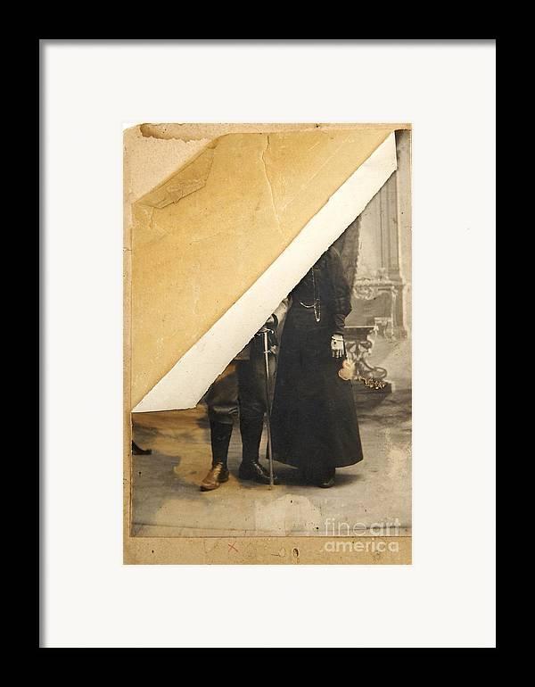 Album Framed Print featuring the photograph Old Image by Bernard Jaubert