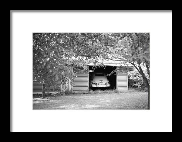 Cars And Trucks Framed Print featuring the photograph Old Mercury by David Olson