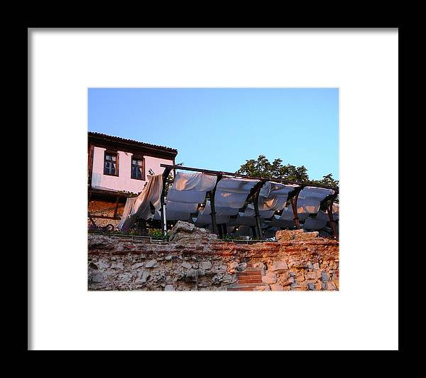 Nessebar Framed Print featuring the photograph Old Nessebar Town by Amalia Suruceanu