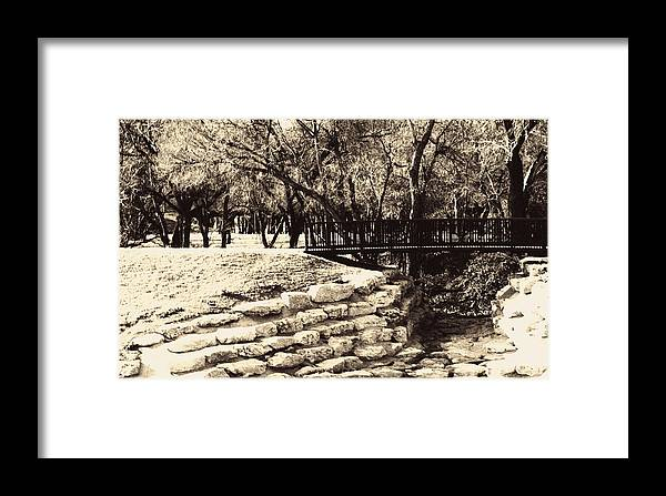 Bridge Framed Print featuring the photograph Old Timer by Judge Howell