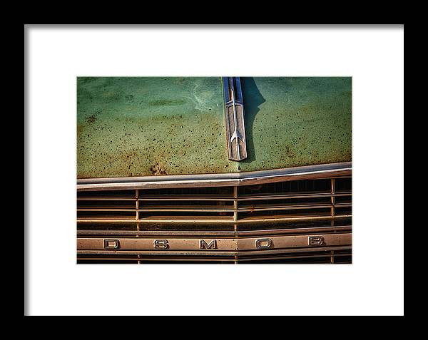 Cheyenne Framed Print featuring the photograph Oldsmobile by Richard Steinberger