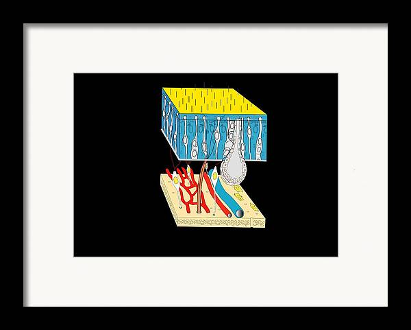 Human Body Framed Print featuring the photograph Olfactory Epithelium, Artwork by Francis Leroy, Biocosmos