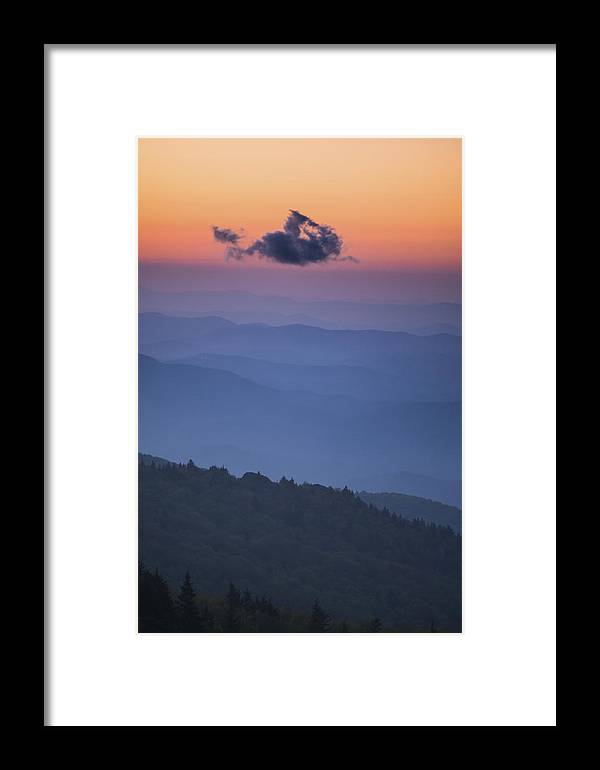 2000s Framed Print featuring the photograph One Cloud by Joye Ardyn Durham