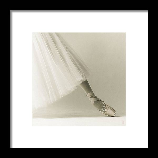 Ballet Framed Print featuring the photograph One Point by Nikolay Krusser