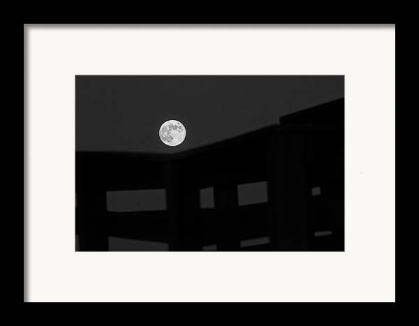 B/w Framed Print featuring the photograph One Small Step For A Man by Melany Sarafis