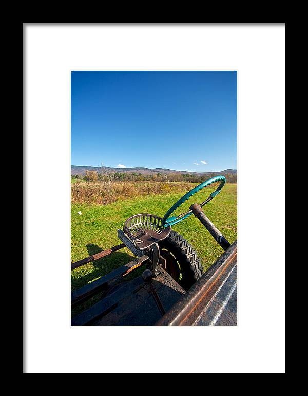 Autumn Framed Print featuring the photograph Open Air by Mike Horvath