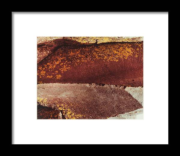 Rock Framed Print featuring the photograph Opposing Forces by Neil Koppes
