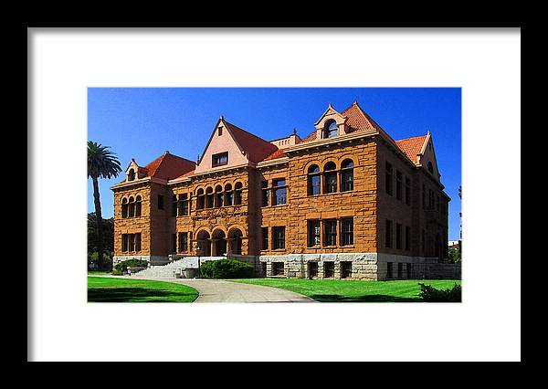 Courthouse Framed Print featuring the photograph Orange County Courthouse by Timothy Bulone