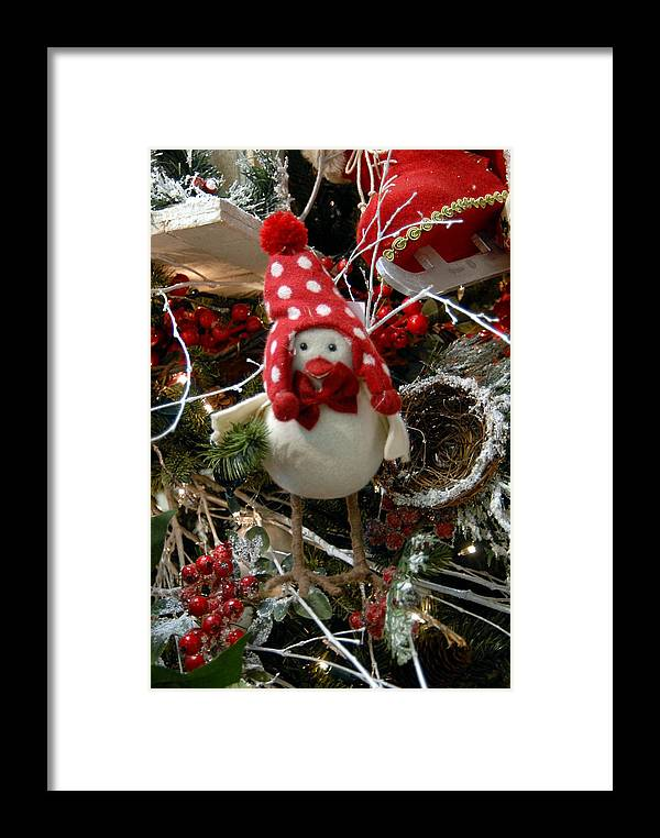 Christmas Ornament Ornament Framed Print featuring the photograph Ornament 117 by Joyce StJames