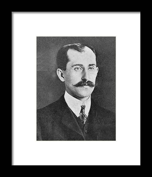 Orville Wright Framed Print featuring the photograph Orville Wright, Us Aviaton Pioneer by Science, Industry & Business Librarynew York Public Library