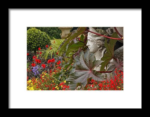 Kg Framed Print featuring the photograph Osborne Lady by KG Thienemann