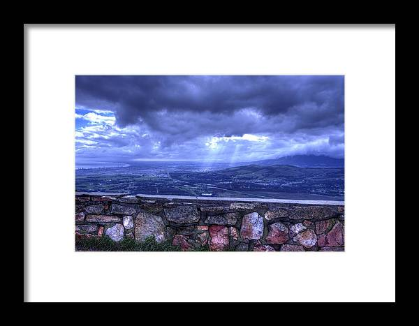 Valley Framed Print featuring the photograph Our Valley by Donne Beukes