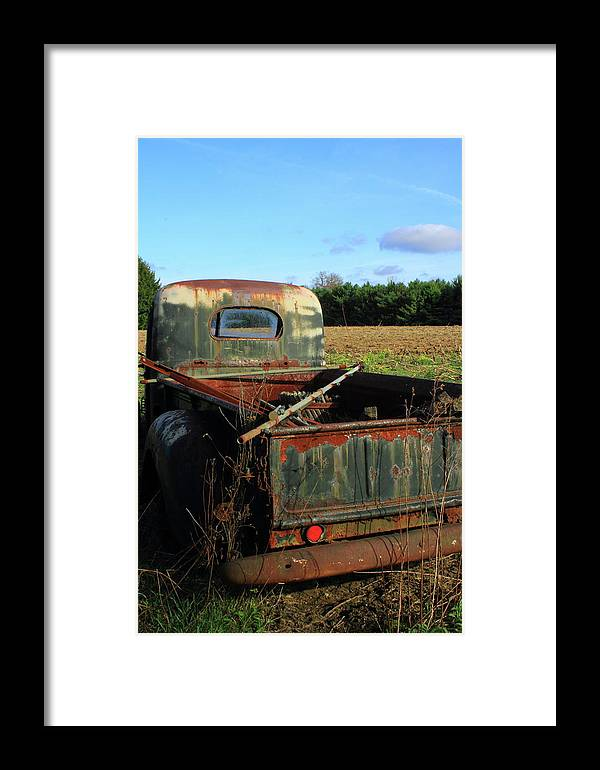 Sonya Anthony Photography Framed Print featuring the photograph Out To Pasture by Sonya Anthony