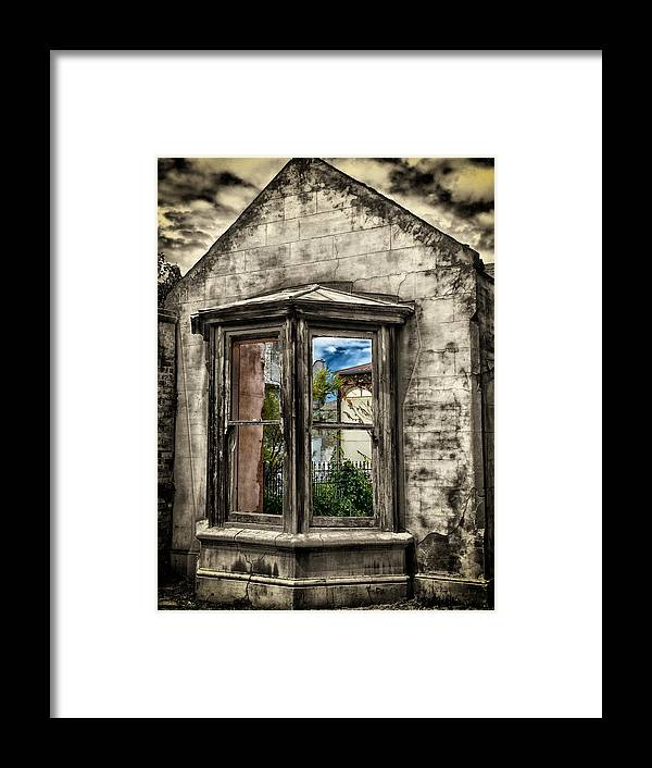 Outside Framed Print featuring the photograph Outside In by John Monteath