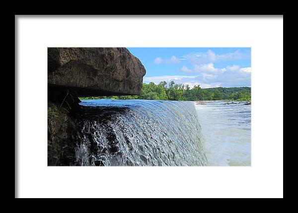 Virginia Framed Print featuring the photograph Over-flow by Phil Cappiali Jr