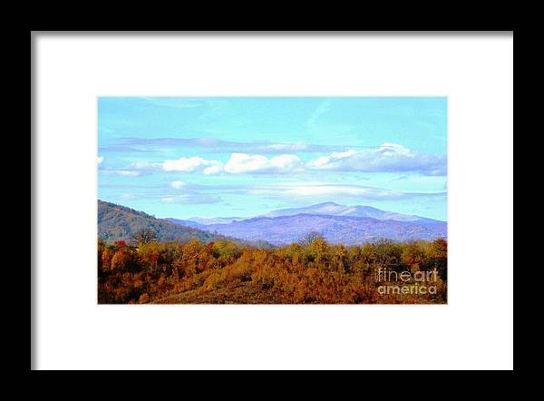 Hills Framed Print featuring the photograph Over the Hills by Amalia Suruceanu