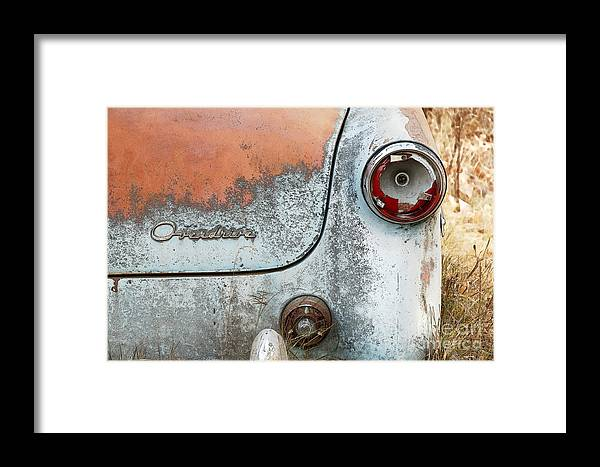 Car Framed Print featuring the photograph Overdrive by Brian Ewing
