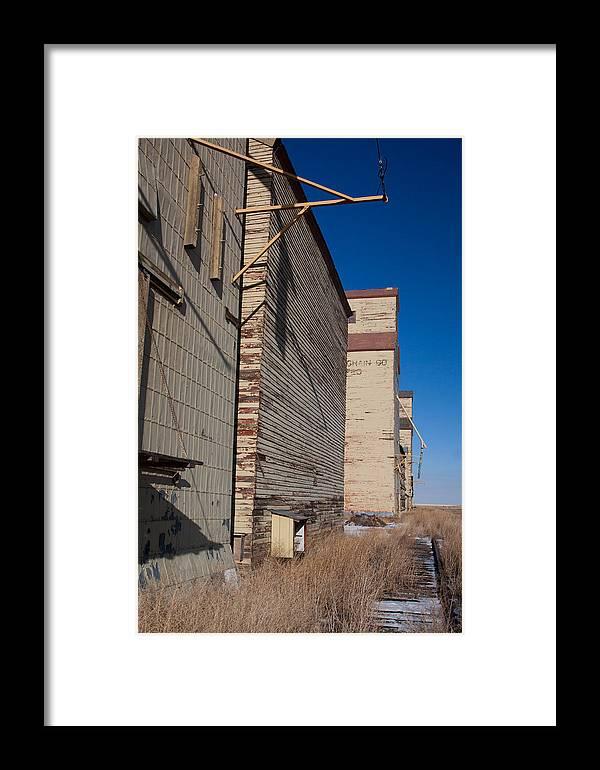 Mossleigh Framed Print featuring the photograph Overgrown Rails by Jill Lassaline