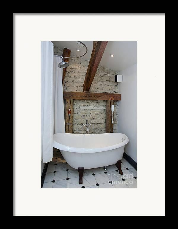 Bath Framed Print featuring the photograph Pädaste Manor Bathtub by Jaak Nilson