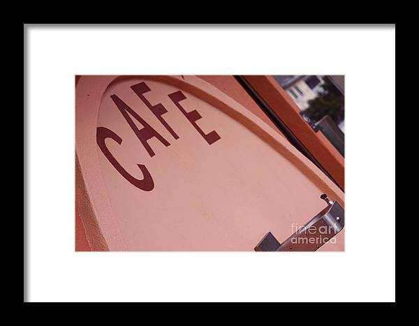 Pacifica Framed Print featuring the photograph Pacifica Pier Cafe by Polly Villatuya