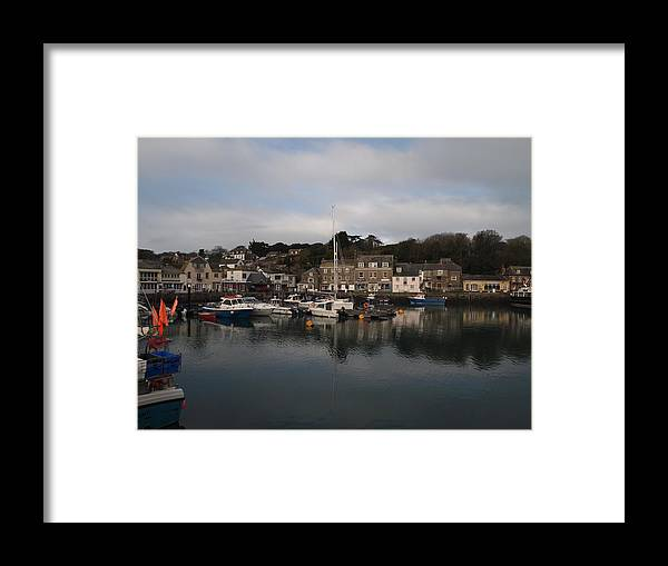 Padstow Framed Print featuring the photograph Padstow Harbour by Christopher Mercer