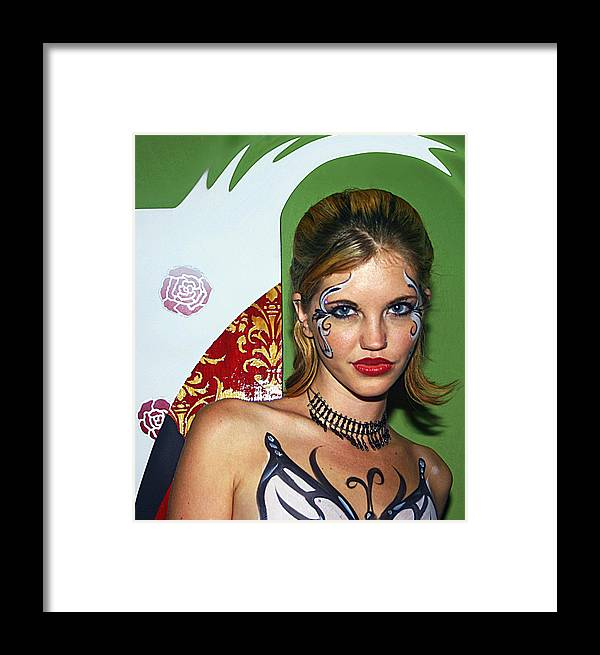 Art Photo Framed Print featuring the photograph Painted Doll by Zoran Peshich