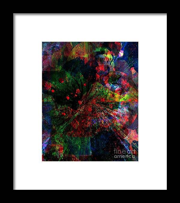 Fania Simon Framed Print featuring the mixed media Painting the Sky by Fania Simon