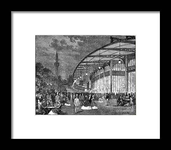 1867 Framed Print featuring the photograph Paris: Exposition Of 1867 by Granger