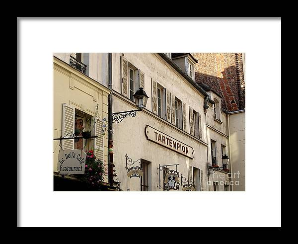 Paris Framed Print featuring the photograph Paris Walls by Tanya Searcy