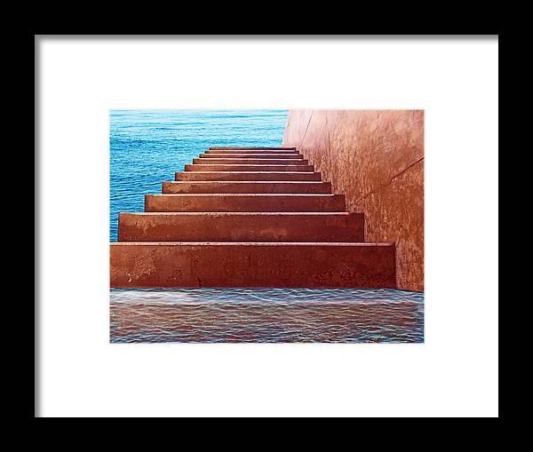 Dream Art Framed Print featuring the digital art Passage To Atlantis by David Rearwin